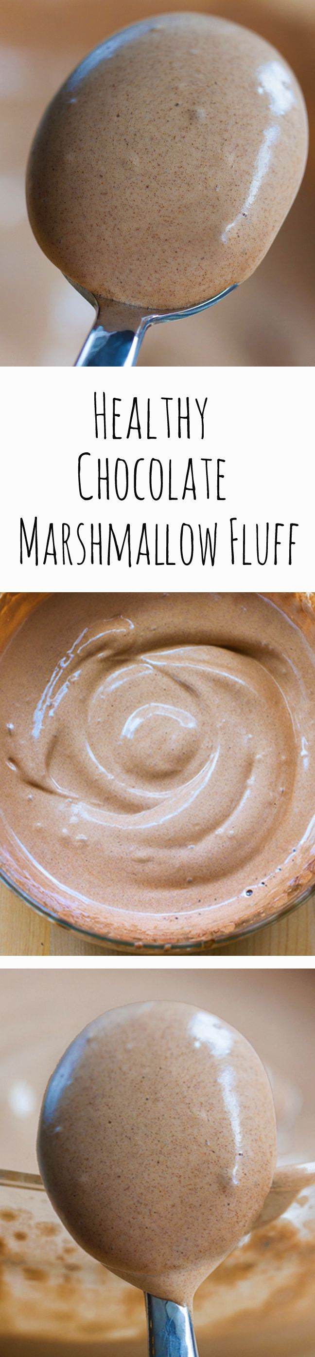 Chocolate Marshmallow Fluff, with NO corn syrup, and no unhealthy chemical ingredients