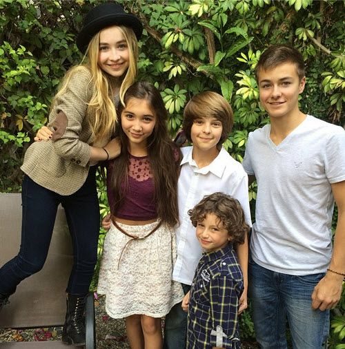 girl meets world cast nov 3 2013 Video: Girl Meets World Kids Singing Demi Lovatos Heart Attack