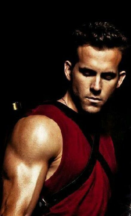 Deadpool - Ryan Reynolds - okay so lets just take a second to admire this fine scenery
