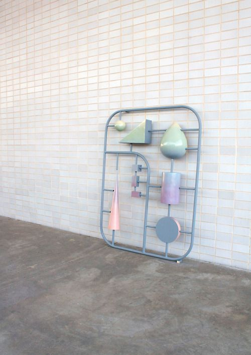 Plastic Components of Modernism, Kristin Walsh (her Tumblr)