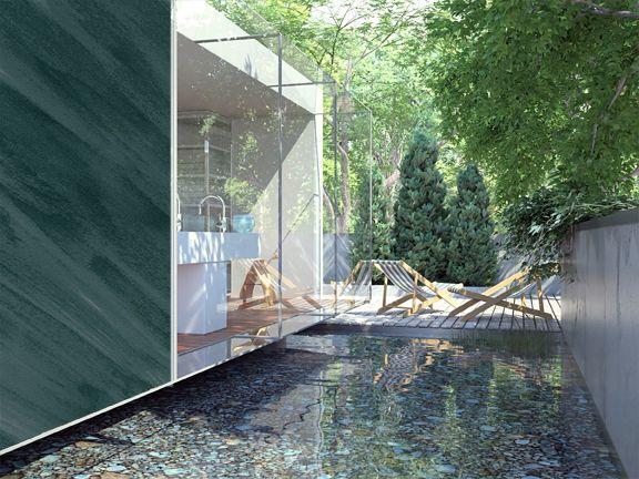 siroco pintura decorativa efecto arena de osaka en color verde oscuro ideal para los amantes