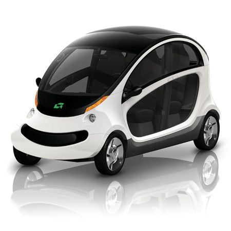 Peapod electric car by Chrysler  4 people