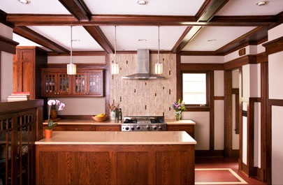 Prairie style kitchen for the home pinterest for Prairie style kitchen