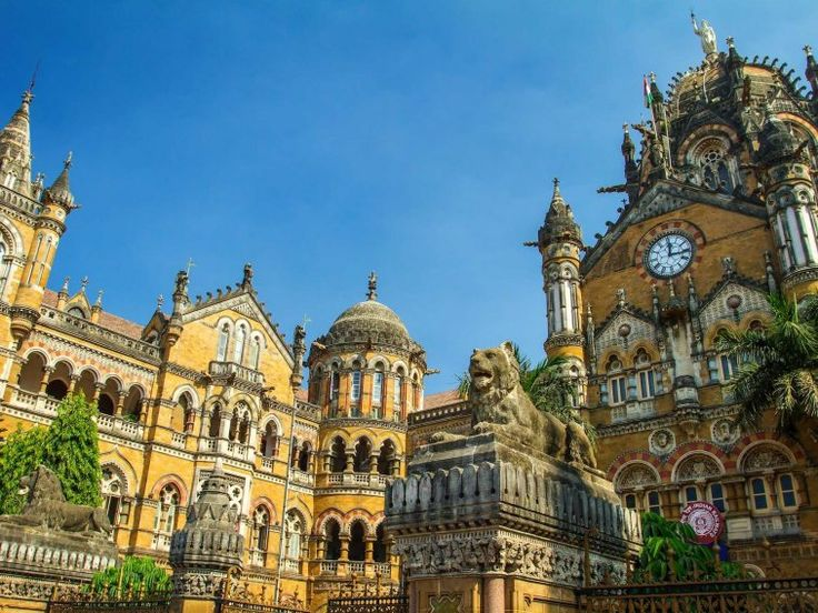 Mumbai's historic railway station, Chhatrapati Shivaji Terminus, is a blend of Victorian Gothic and Indian architecture. Originally known as Victoria Terminus Station, the terminal was built in 1878 and served as a hub for merchants.