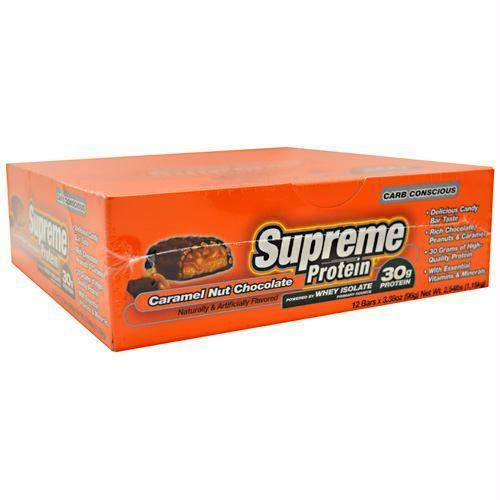 Supreme Protein Carb Conscious Quadruple Layer Protein Bar Caramel Nut Chocolate - 20202