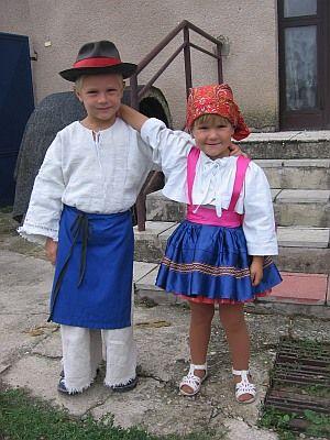 Sekule village, Záhorie region, Western Slovakia.