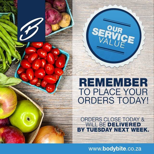 You are just one click away from ordering your healthy meals and having it delivered to YOUR DOOR, it's as simple as that – Cut off is TONIGHT midnight for this coming Tuesday deliveries!!!