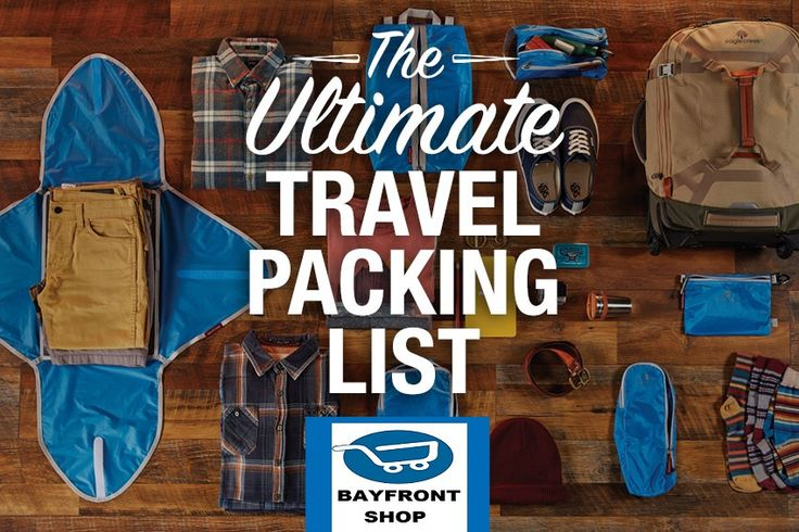 The Ultimate Travel Packing Checklist   Whether this is your first trip or you're a seasoned globetrotter, it's always helpful to have a rundown of what items you may want to pack – you know, a comprehensive international travel checklist. Bookmark this travel packing list because you'll want to refer to it as your trip gets...https://bayfrontshop.com/the-ultimate-travel-packing-checklist/