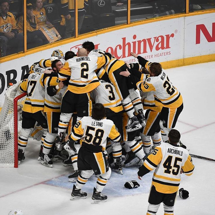 CONGRATS PENS!!! Back to back: The Pittsburgh Penguins are once again Stanley cup Champs!