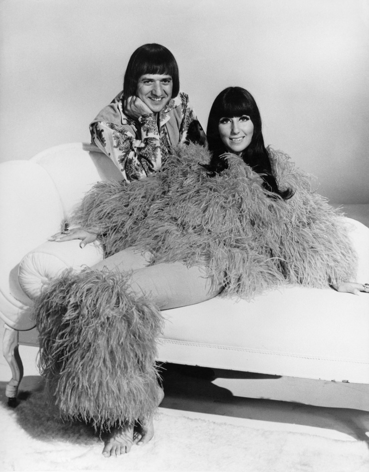 Sonny & Cher were an American pop music duo, actors, singers and entertainers made up of husband-and-wife team Sonny and Cher Bono in the 1960s and 1970s