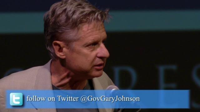 Gov Gary Johnson at Duke University by CineFilm Media Must See!