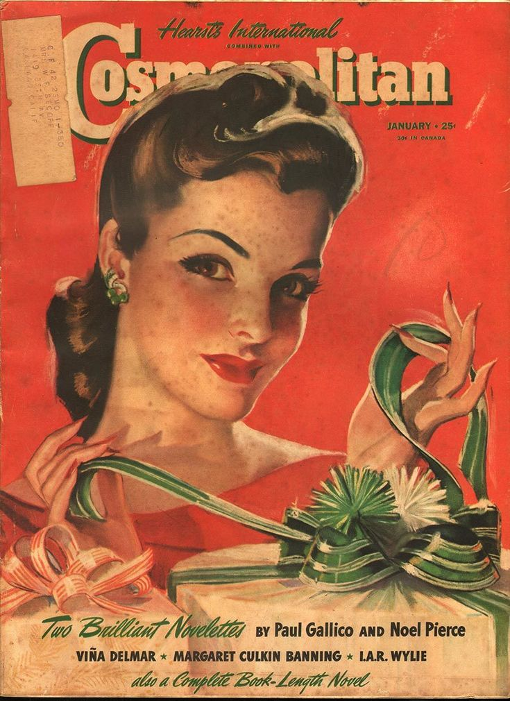 Cosmopolitan January 1941 - Ephemera Forever