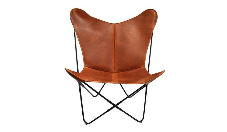 papillon klappstuhl braun von ox design monoqi home pinterest ochse schmetterlinge. Black Bedroom Furniture Sets. Home Design Ideas