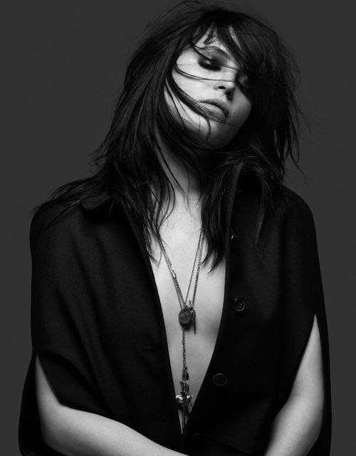 Alison Mosshart Photographed by Hedi Slimane for...