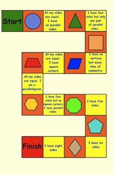 THREE GEOMETRY GAMES FOR PRIMARY STUDENTS - TeachersPayTeachers.com