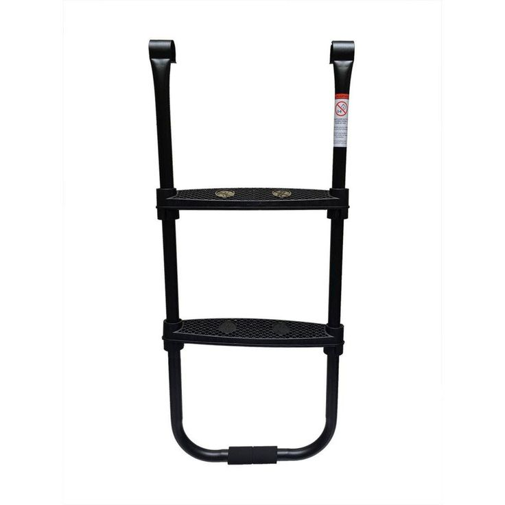 Trampoline 2-Step Adjustable Ladder