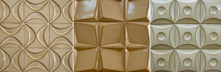 handmade relief clay tiles - Google Search