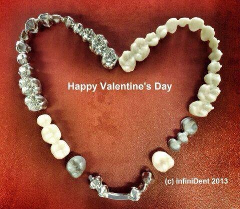 Dental valentines day