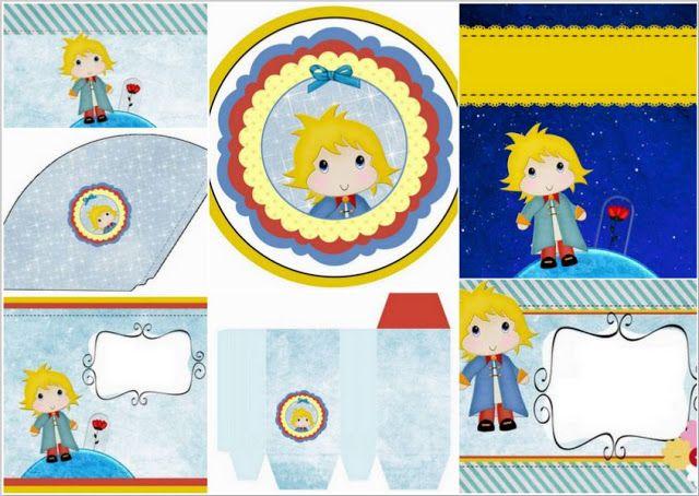 Pretty Little Prince Free Printable Kit.