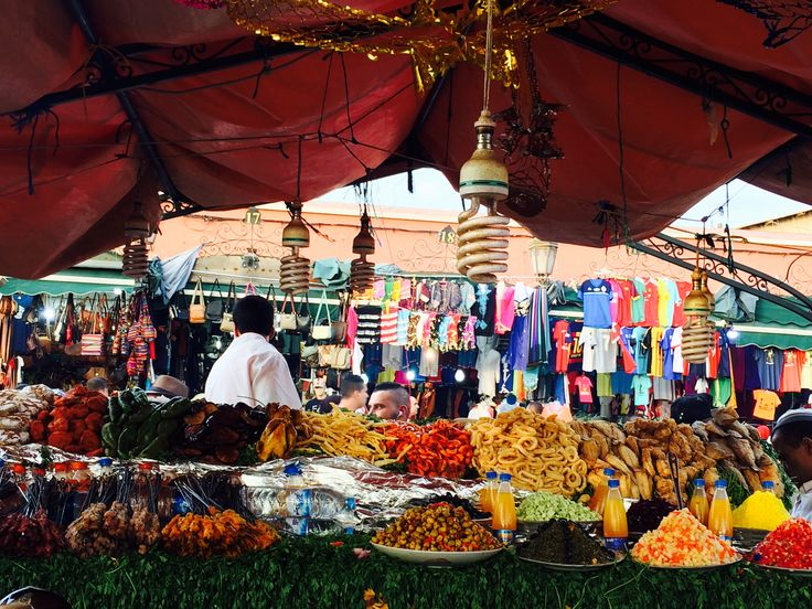 Jemaa el Fna, Medina, Marrakech