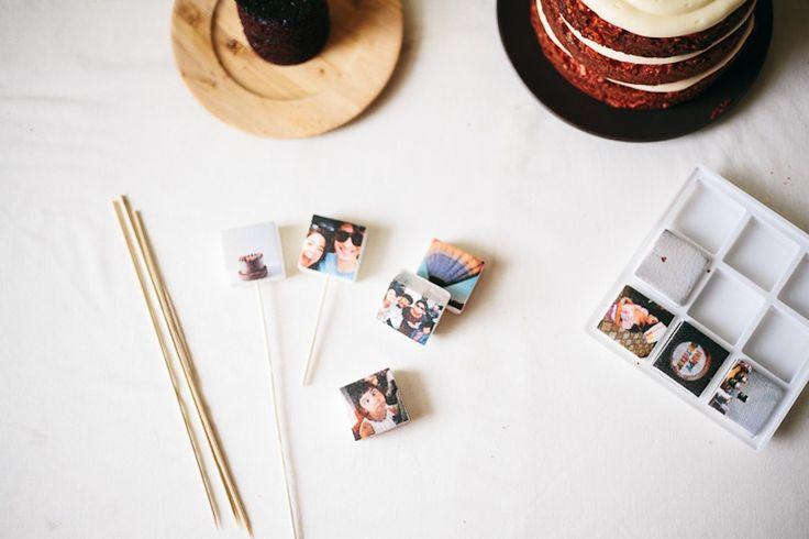 Cool: Instagram marshmallows voor op je bruidstaart