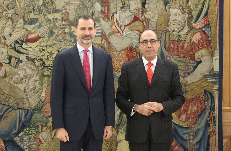 King Felipe received in audience to Mr Alejandro Alvargonzález San Martín, Deputy Secretary-General for Political and Security of NATO |  13.12.2016 - click to read more
