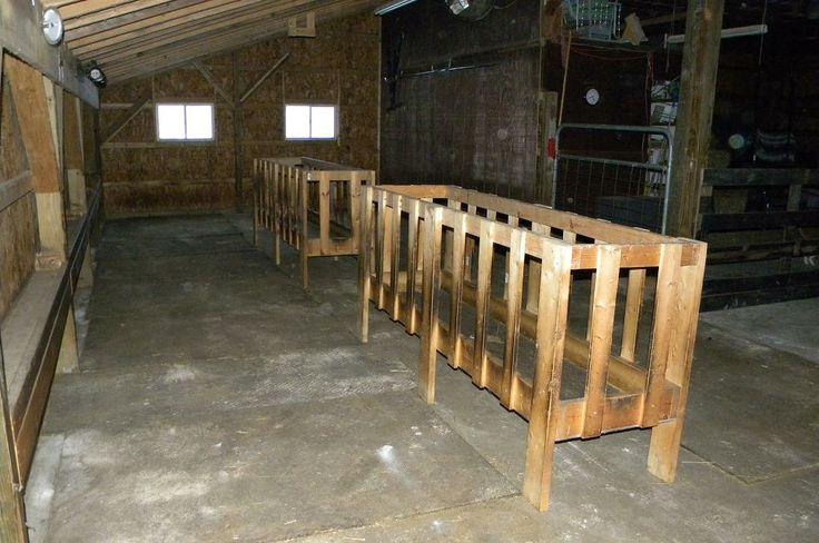 25 best ideas about hay feeder on pinterest diy hay for Farm barn plans