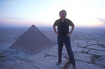Graham Hancock, a revolutionary thinker whose ideas could be monumental in the rewriting of our crude understanding of the past