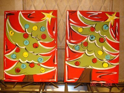 whimsy tree painting