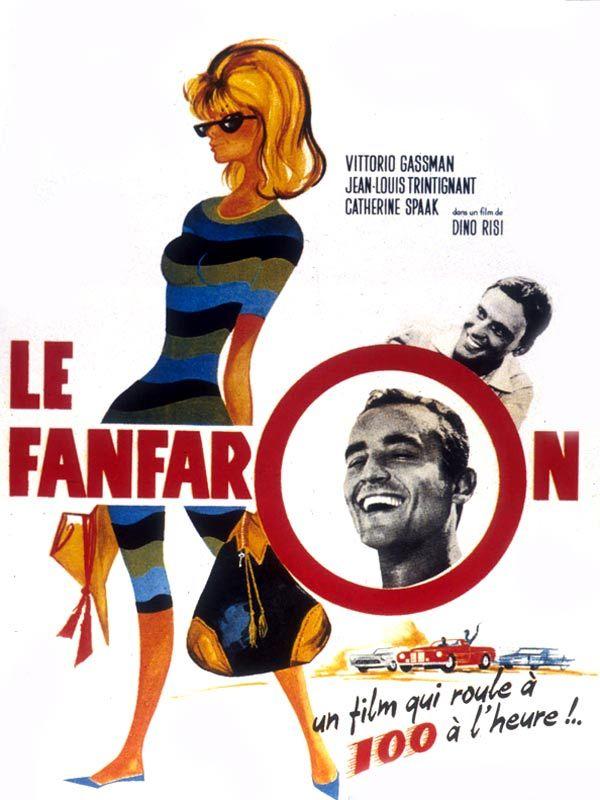 """Il sorpasso Dino Risi 1962 con Vittorio Gassman, J.L.Trintignant """"Ammazza 'sti settentrionali hanno tutti la grana!"""""""
