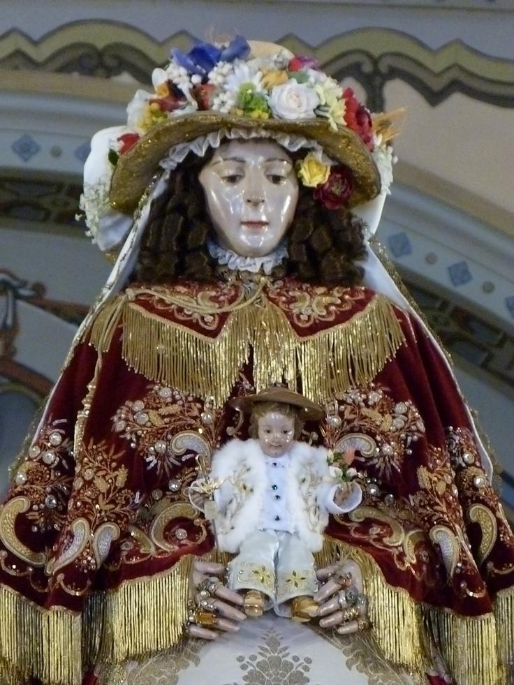 La Virgen de Nuevo de Pastora.
