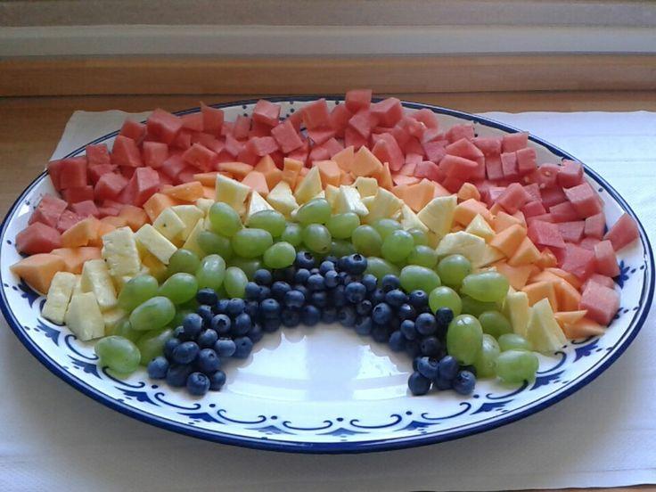 Arcobaleno di frutta / Fruit Rainbow