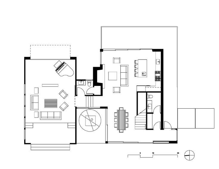 images about Pläne  on Pinterest   House plans  Villas and    Oak Pass Guest   Walker Workshop Design Build