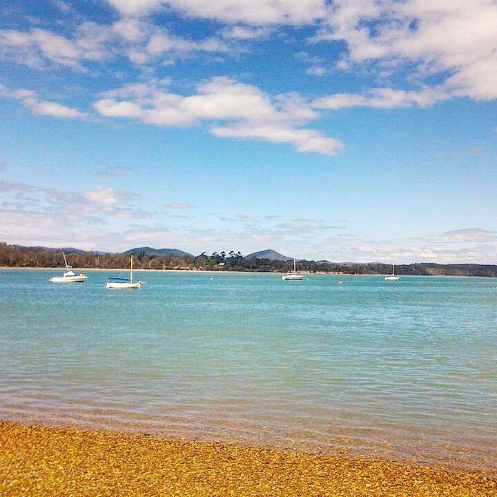 Squeaking Point , at Port Sorell , Tasmania