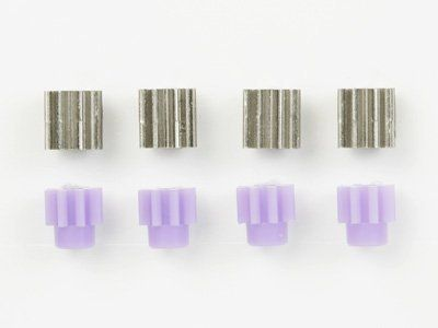 15289 Mini 4WD 8T Metal & Plastic Pinion Gear Set by Tamiya. $41.62. TAM. 15289 Metal & Plastic Pinion Gear Set 8T Mini 4WD