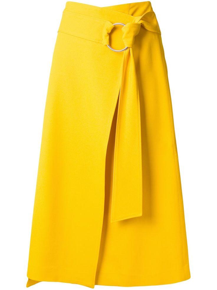 Большой размер юбки с запахом
