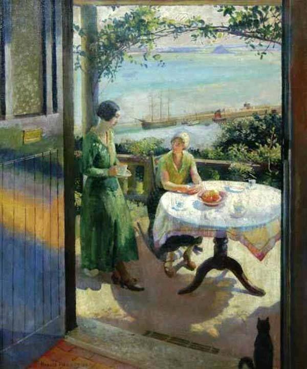 Harold Harvey, La porta blu, 1931