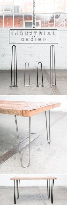 Hairpin Legs for DIY ▫️ Mid Century Modern ▫️ Industrial Strength ▫️ Amazon #1 Best Selling Hairpin Legs