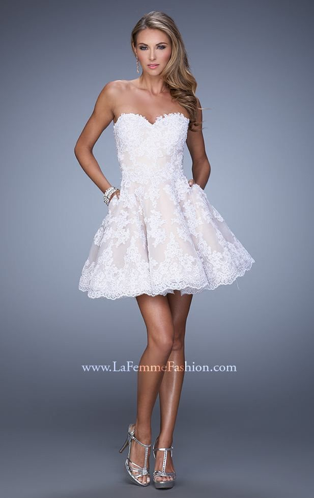 Shop La Femme evening gowns and prom dresses at Simply Dresses. Designer prom  gowns, celebrity dresses, graduation and homecoming party dresses.