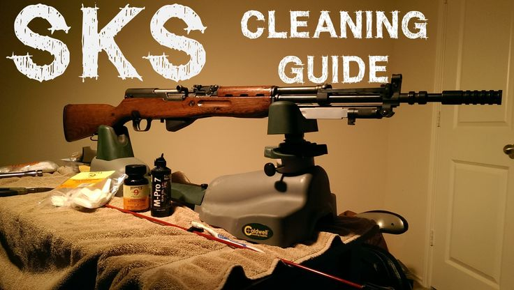 How To Clean Your SKS Rifle (Including the Bolt)