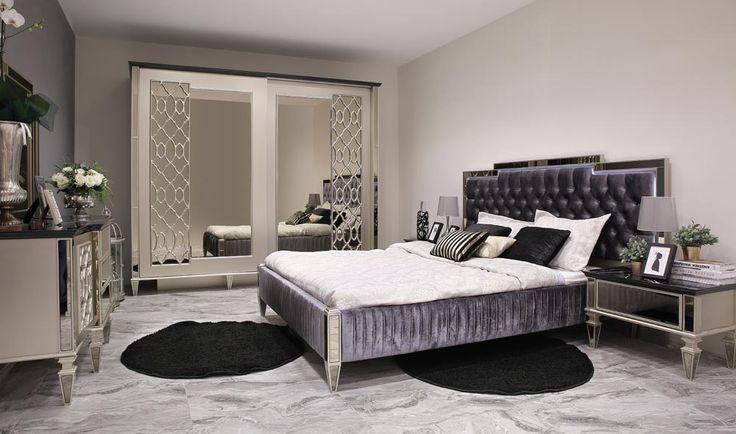 Elegantes Luxus Schlafzimmer In 2020 Luxusschlafzimmer