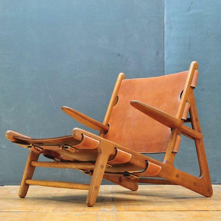 1949 Original Hunting Chair Handmade by Erhard Rasmussen 5