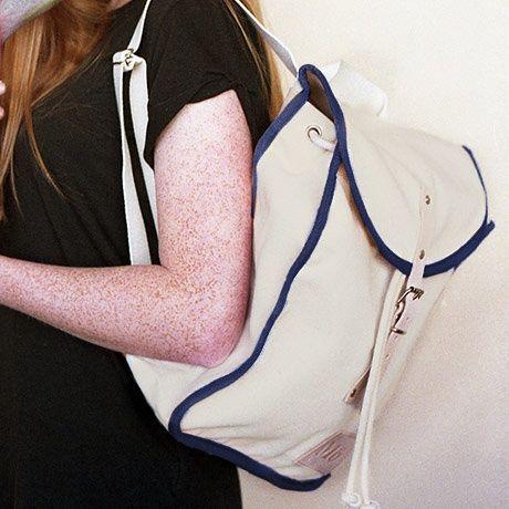Heap Backpack - Wit / Navy - van Mödernaked