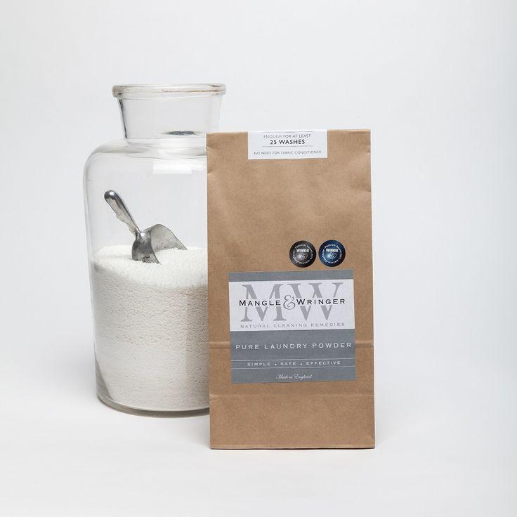 Mangle & Wringer eco-friendly laundry powder