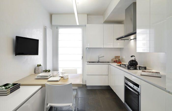 Kleine Keuken Voorbeelden : Kleine keuken indelen