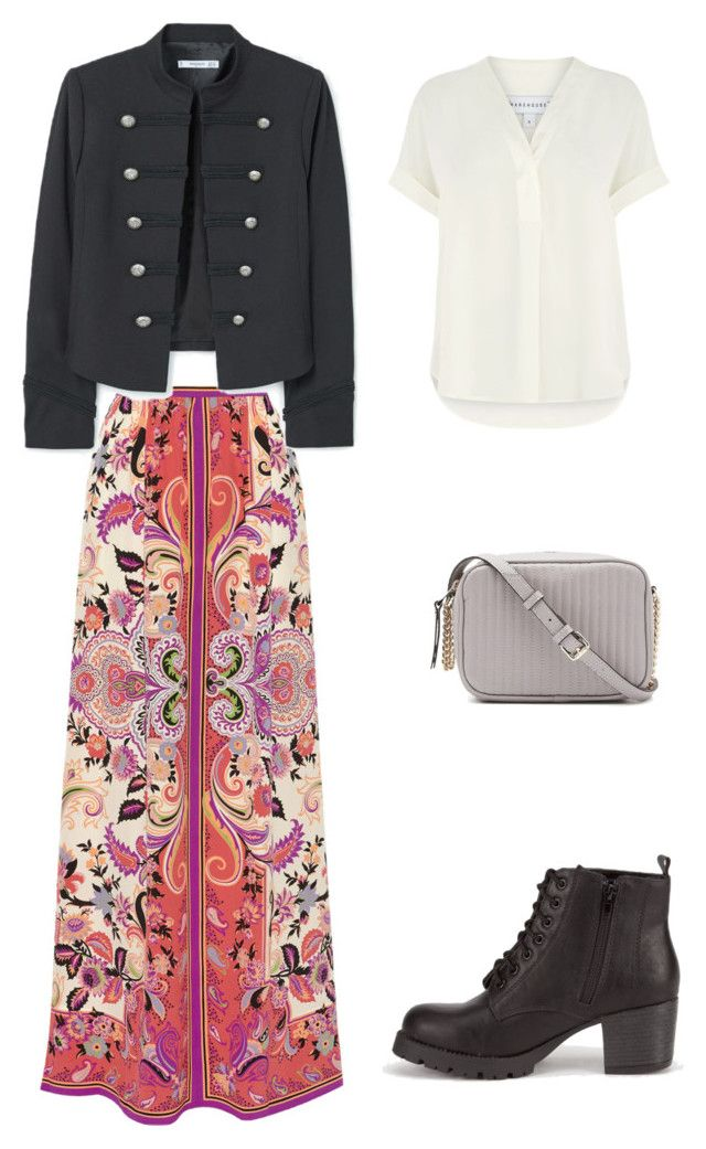 """Boho 8"" by sofya-2 on Polyvore featuring Etro, MANGO, Soda and Warehouse"