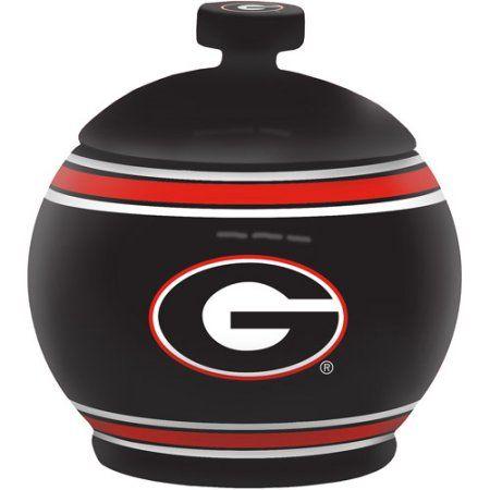 12oz Ncaa Georgia Bulldogs Game Time Jar, Multicolor