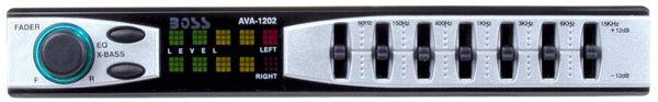 AVA1202 7 Band Preamp Equalizer MSRP - $45