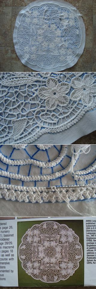 Thread Head: Romanian Point Lace Embroidery Keka❤❤❤
