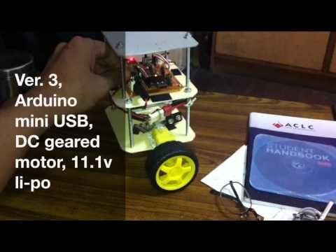 Self Balancing Robot using Arduino USB mini and MPU6050 - YouTube